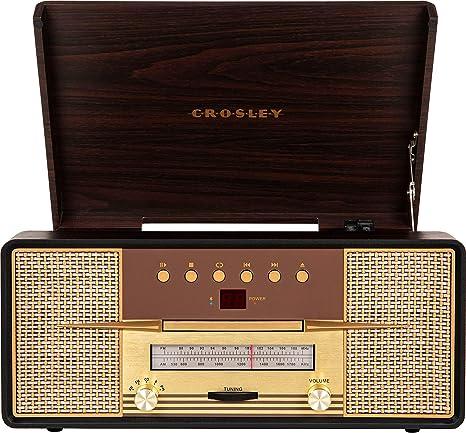 Crosley Rhapsody 3-Speed Turntable with Bluetooth