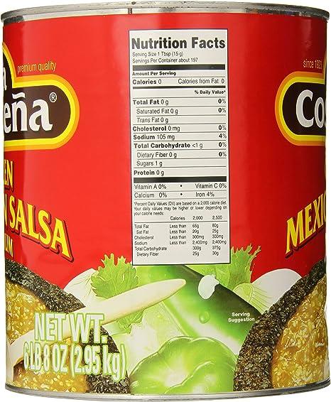 La Costeña Salsa Verde 2950 gr: Amazon.es: Alimentación y bebidas