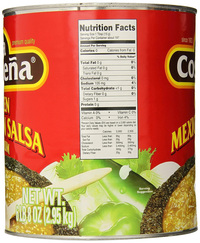Amazon.com : La Costena Original mexicanische Salsa Verde, 1er Pack (1 x 2.95 kg) : Grocery & Gourmet Food