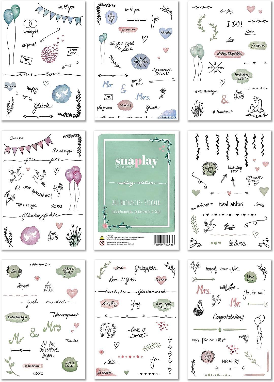 Gästebuch Hochzeit Sticker