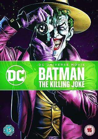 Batman The Killing Joke Includes Digital Download Dvd 2016 Sam Liu Brian Azzarello Movies Tv