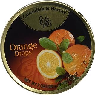 Cavendish Caramelos con Sabor a Naranja - 1 Paquete de 9 x 22.22 gr - Total