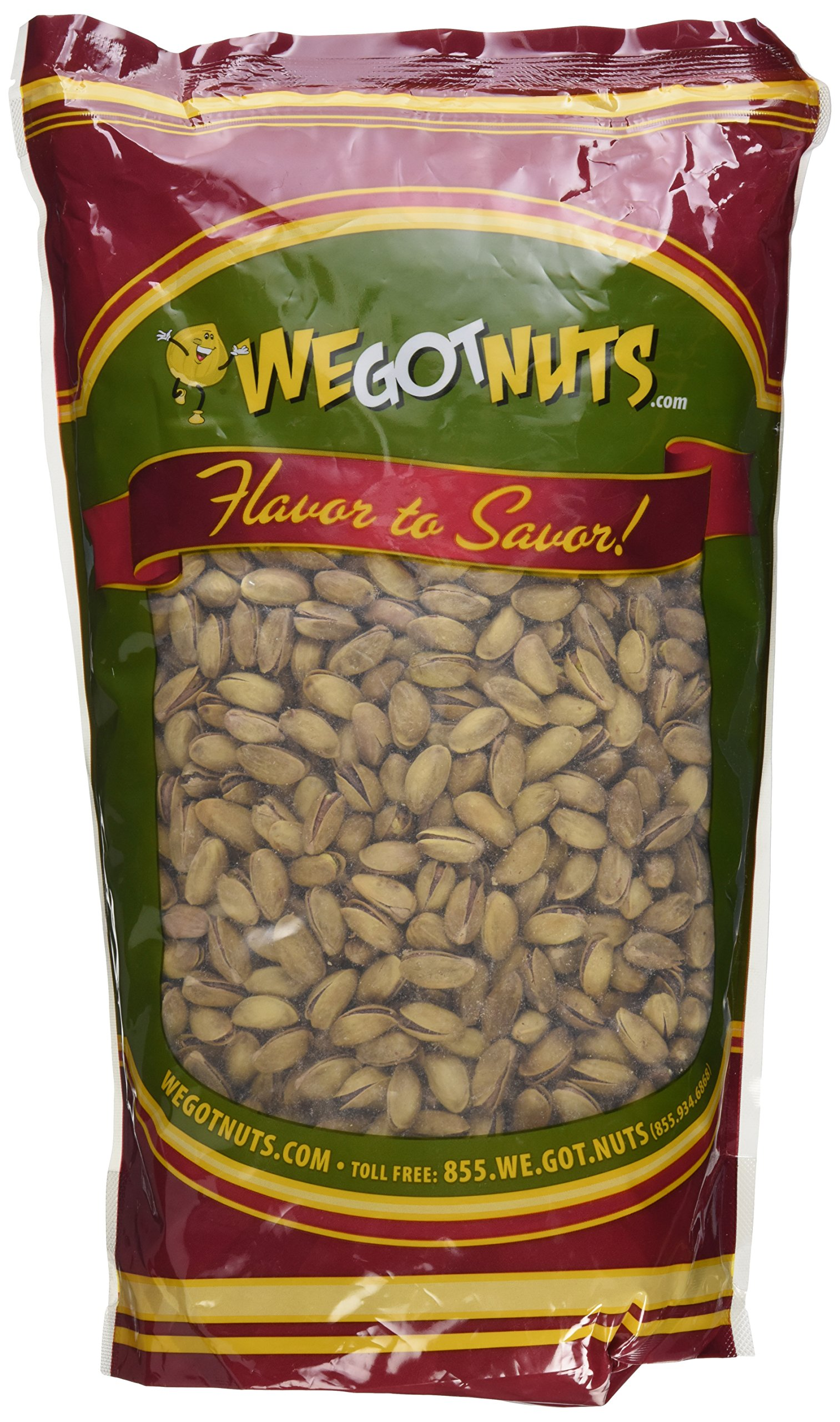 Turkish Pistachios Antep Roasted Salted, In Shell - We Got Nuts (5 LBS.) by We Got Nuts (Image #2)