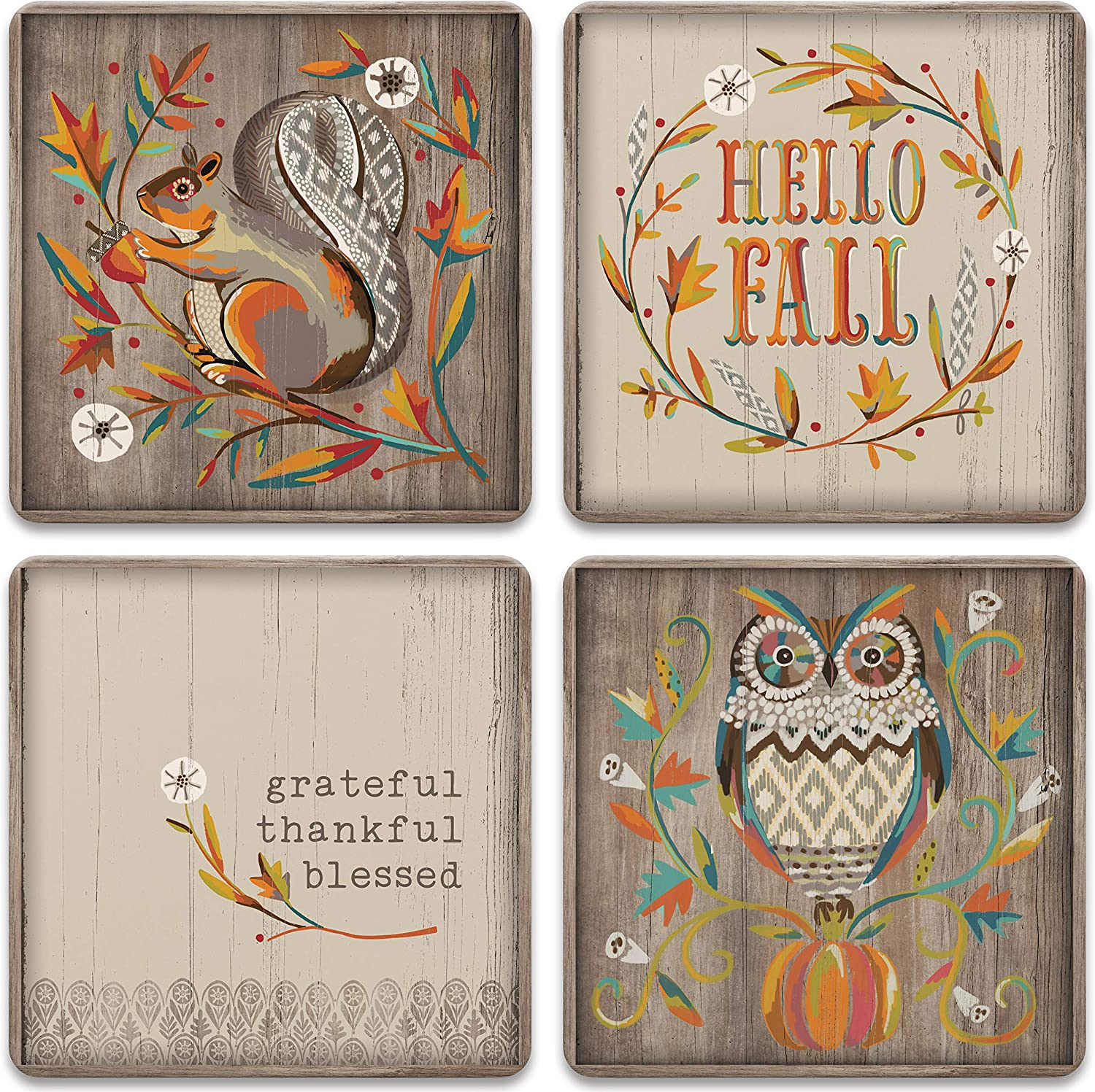 Autumn Blessings Coasters