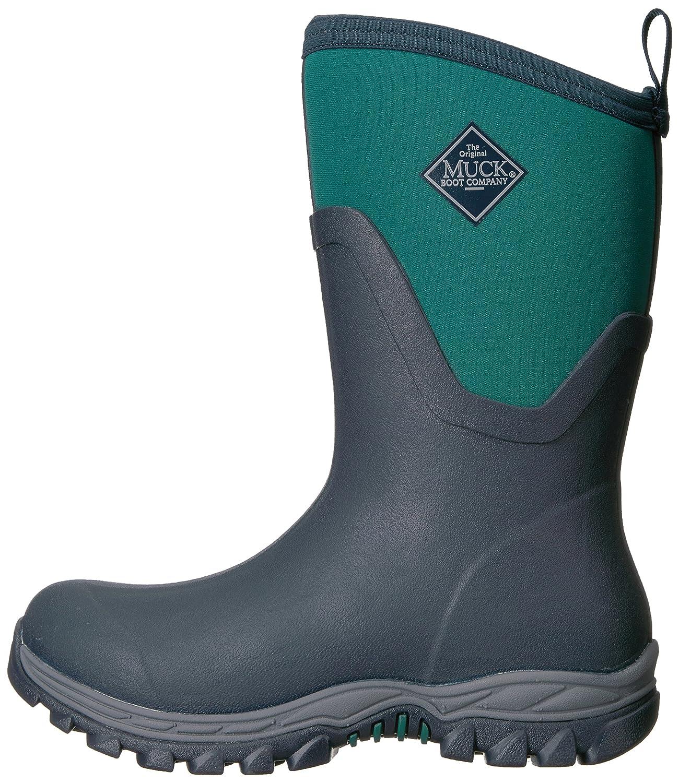 Muck Snow Boot Women's Arctic Sport II Mid Snow Muck B01J4N0HUG 11 B(M) US|Navy/Teal a43569