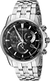 Citizen Eco-Drive Men's 'Perpetual Calendar' Quartz Stainless Steel Casual Watch, Color: Silver-Toned (Model: BL8140-55E)