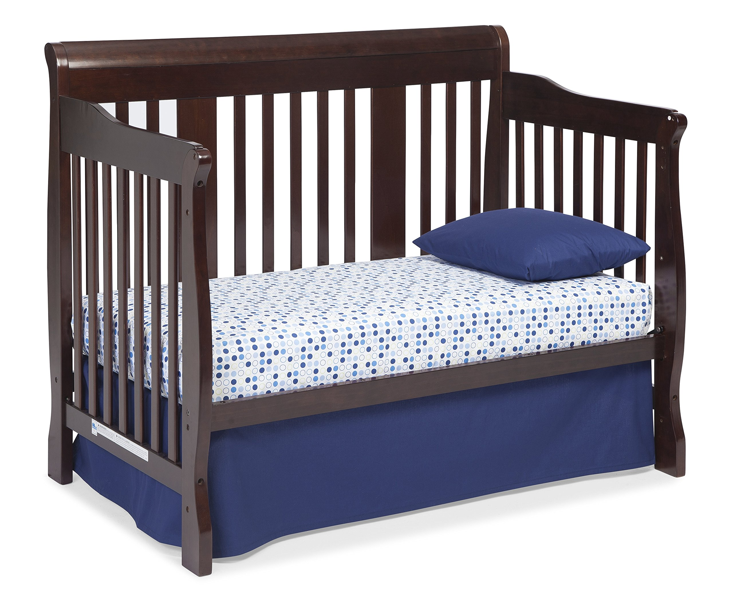 Stork Craft Tuscany  In  Convertible Crib Black