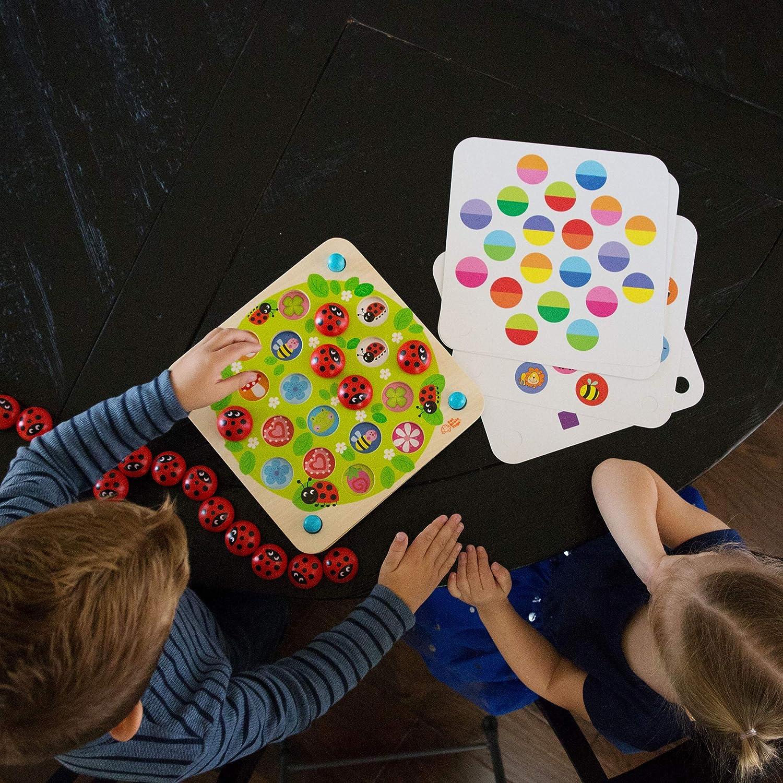 Amazon.com: Fat Brain Toys Ladybugs Garden Memory Game ...