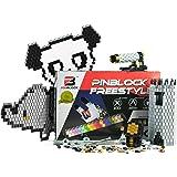 Pinblock - Creative Building Toy | Freestyle - Metallic | 1000 Interlocking and Rotating Blocks | Smart Building Set for Boys and Girls