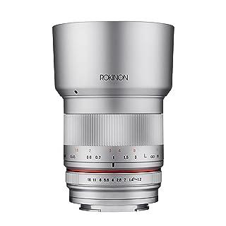 Rokinon 35mm F1.2 High Speed Wide Angle Lens for Fujifilm X Mount - Silver - Fuji X