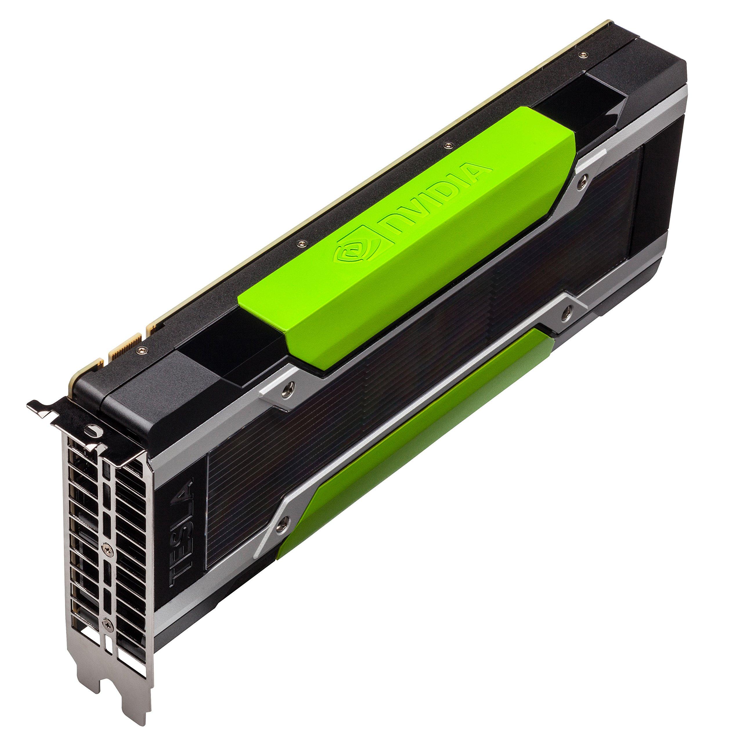 HP J0G95A NVIDIA Tesla K80 - GPU computing processor - 2 GPUs - Tesla K80 - 24 GB GDDR5 - PCI Express 3.0 x16 - fanless by HP