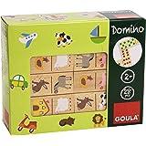 Goula - Dominó, pack de 28 piezas, diseño granja (Diset 50267)