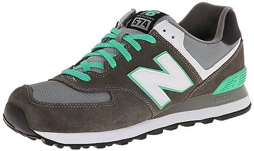 brand new 6d3c6 f3e3e New Balance Ml574 D, Men s Hi-Top Sneakers, Grey (cpf Grey