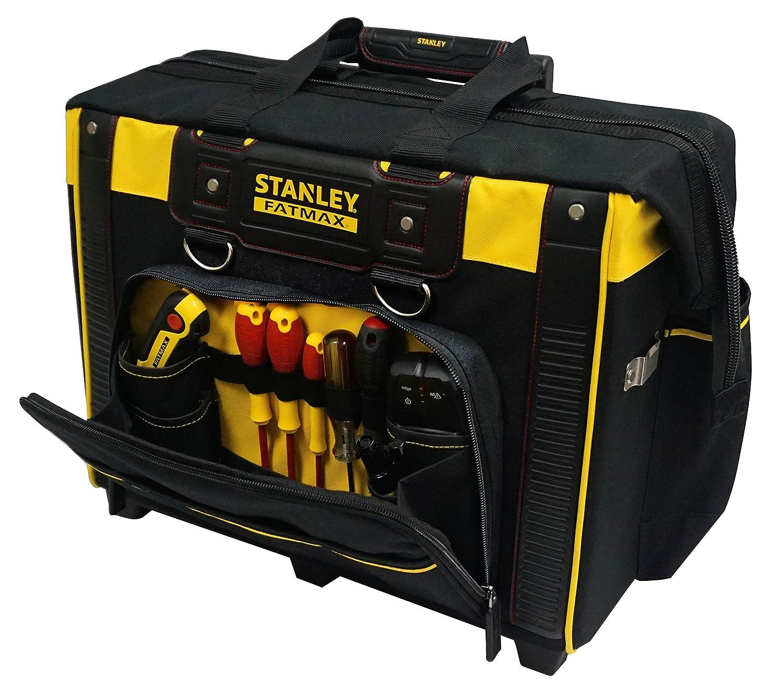 STANLEY FATMAX FMST1-80148 - Bolsa rígida con ruedas para herramientas, 44 x 25 x 44 cm
