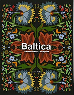 Baltica IV Pattern And Design Coloring Book Folk Art Volume 4