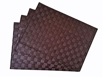 Place Mats , Washable Table Mats , Heat Resistant , Non Slip Placemat ,  Dining