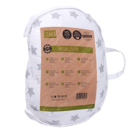 Amazon.com: lulando – Cojín de lactancia cuello almohada ...
