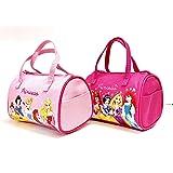 "Disney Princess Small Hand Bag for Little Girl - 7"" * 4"" Pink & Hot Pink (2 Packs)"