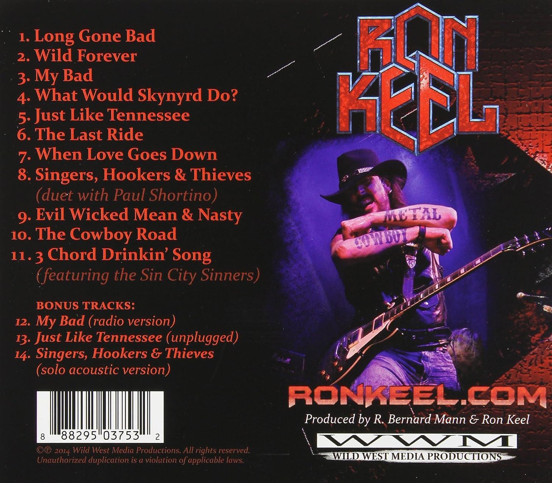 Metal Cowboy: Ron Keel: Amazon.es: Música