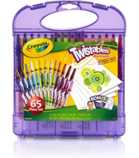 crayola twistables mini crayons and paper set art tools 25 mini twistables - Crayola Colored Pencils Twistables