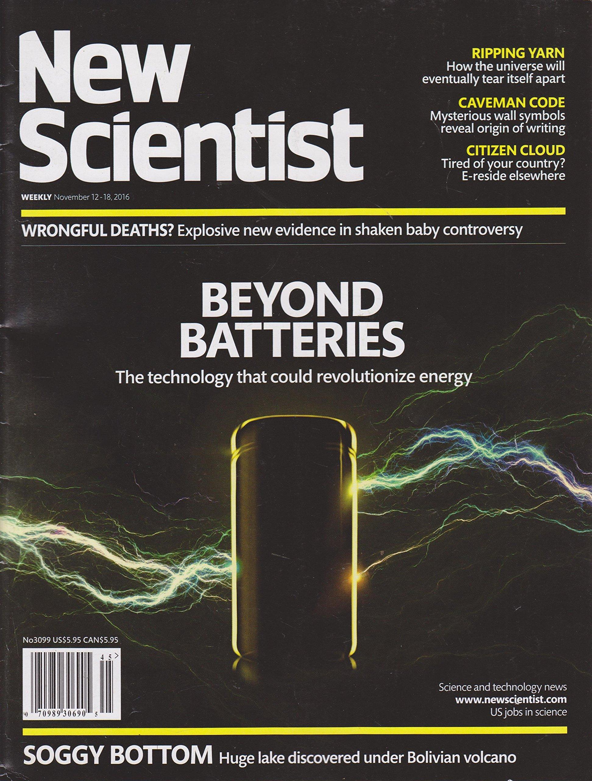New Scientist Magazine November 12-18 2016 PDF