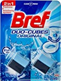 Bref Duo Cubes Original, In Cistern Toilet Cleaner, 2x50g