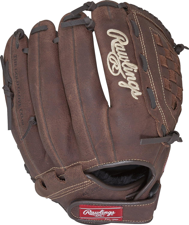 Left-Hand Baseball Glove, First Baseman, 12.5, Espec/ífico, Adulto, Marr/ón Rawlings P125BFL Left-Hand Baseball Glove First Baseman Guantes de b/éisbol