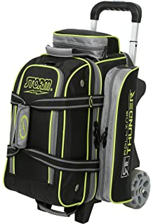 08c3270a45 Storm Bowling Products 2 Ball Rolling Thunder Bowling Bag- Black Gray Lime