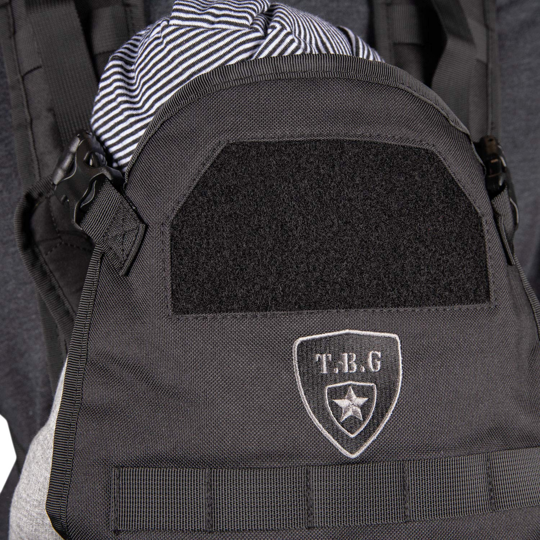 TBG Tactical Baby Carrier Black