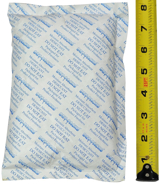 448 Gram (1LB) Silica Gel Desiccant Packet 8' x 5' Dry-Packs Brand! Prevent Mold, Mildew, Odors, and Corrosion! 448Gr.Tyvek