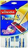 Vileda 140780 Premium 5 Wischbezug - schnell und einfach reinigen - extrabreite Wischfläche - hochwertiger Mikrofaserbezug - für alle Böden geeignet