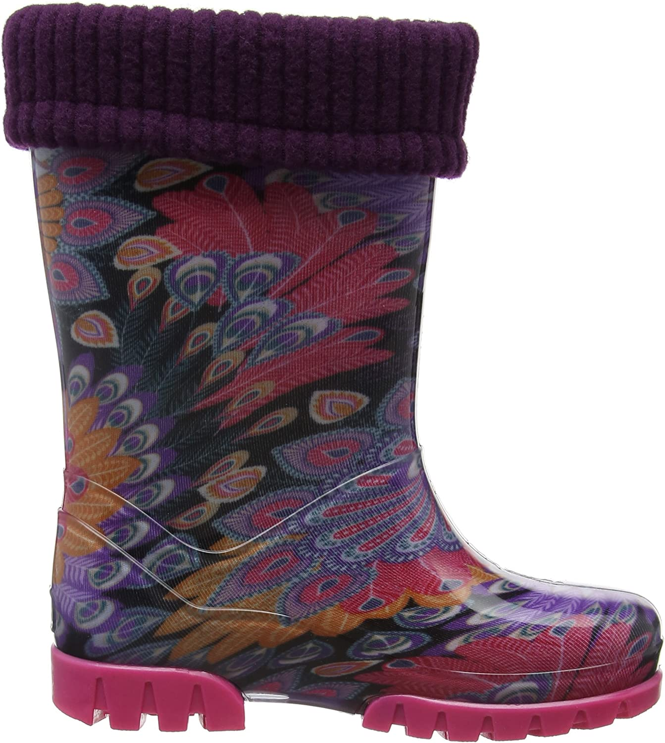NEW!! PURPLE ALL SIZES Toughees Childrens Welly Boots