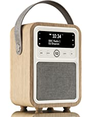 VQ Monty DAB & DAB+ Digital Radio with FM & AM, Bluetooth & Alarm Clock – Real  Wood Case Oak