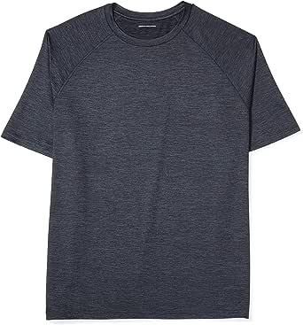 Amazon Essentials Mens Big & Tall Tech Stretch Short-Sleeve T-Shirt