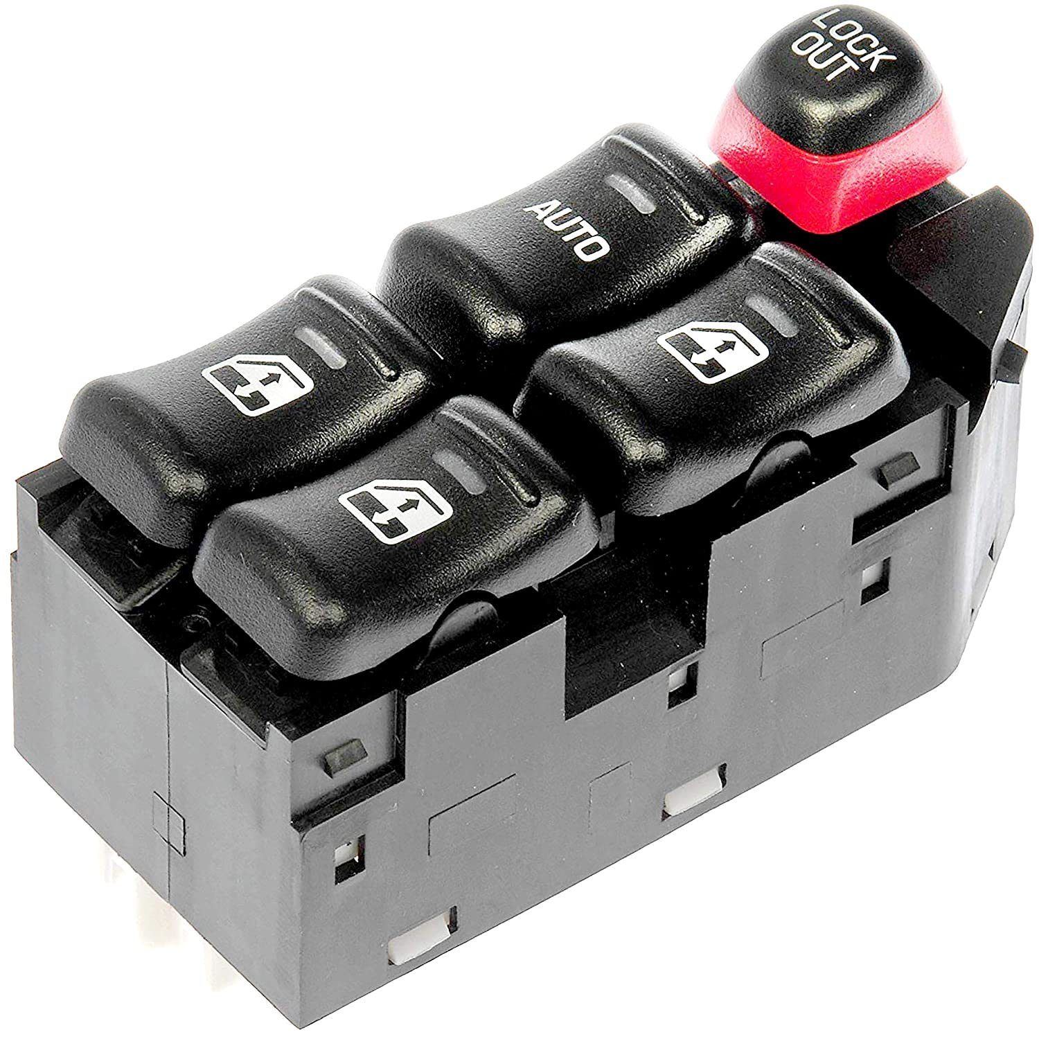 Replaces 22706008, 22609681, 22616522 APDTY 012133 Master Power Window Switch Fits Front Left 2004-2005 Chevrolet Classic 1997-2003 Chevrolet Malibu 1997-1999 Olds Oldsmobile Cutlass