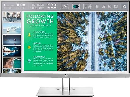 Comprar HP EliteDisplay E243 - Monitor de 23, 8 pulgadas ajusable en altura (FHD antireflejo; 1920 x 1080 a 60Hz; IPS LED, 250cd/m; 5ms; 16:9; 1 x VGA; 1 x HDMI 1.4; 1 x DisplayPort 1.2; 2 x USB 3.0)