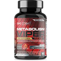 Metabolism Viper | Fat Burner Supplement with Biotin which contributes to Normal macronutrient Metabolism | 180 Capsules