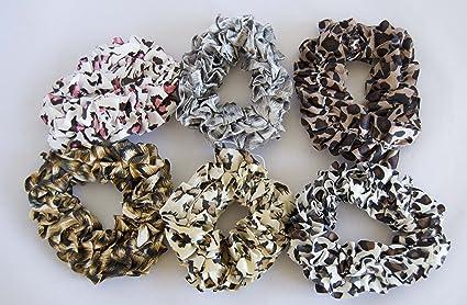 Pack de 6 coleteros de tela con estampado animal. Envío GRATIS 72h ... e6abfeaab503