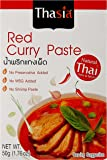 Thasia Red Curry Paste, 50g (Pack of 2)
