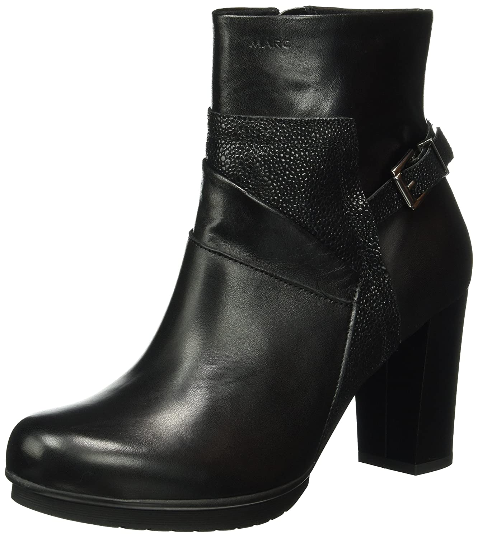 Marc Shoes Edina, Zapatillas de Estar Por Casa para Mujer42 EU|Negro