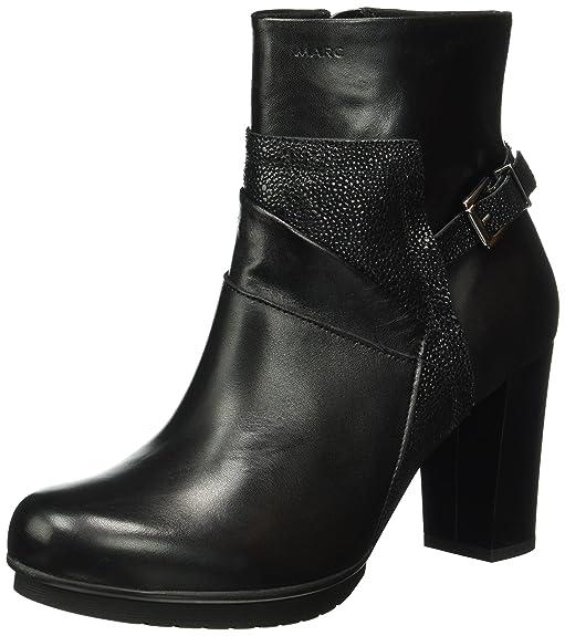 Marc Shoes Edina, Bottes Classiques Femme - Marron - Braun (Brandy-Combi 00026), 39