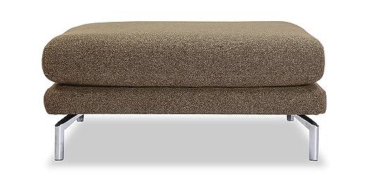 Amazon.com: kardiel Basil moderno loft Otomano, Premium tela ...