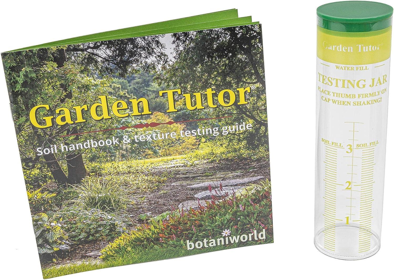 Garden Tutor Soil Texture Testing Jar Test Kit