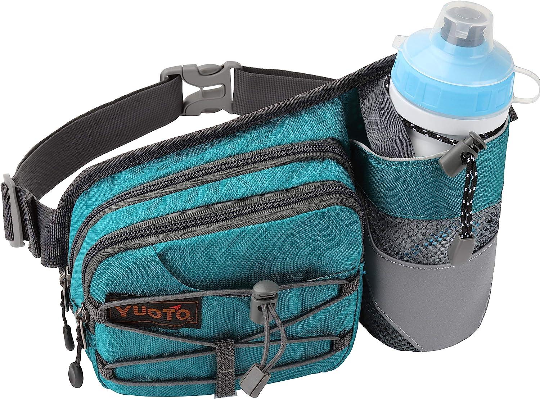 Walken Herren Wandern passend f/ür iPhone 11 Yuoto H/üfttasche mit Wasserflaschenhalter f/ür Laufen Damen Hydrationsg/ürtel L/äufer