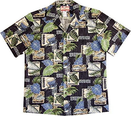RJC Men's Hawaiian Nation Icon Shirt