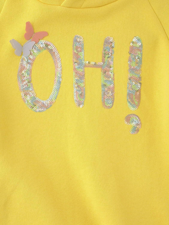 TOM TAILOR M/ädchen Strick /& Sweatshirts Sweatshirt mit Pailletten-Motiv