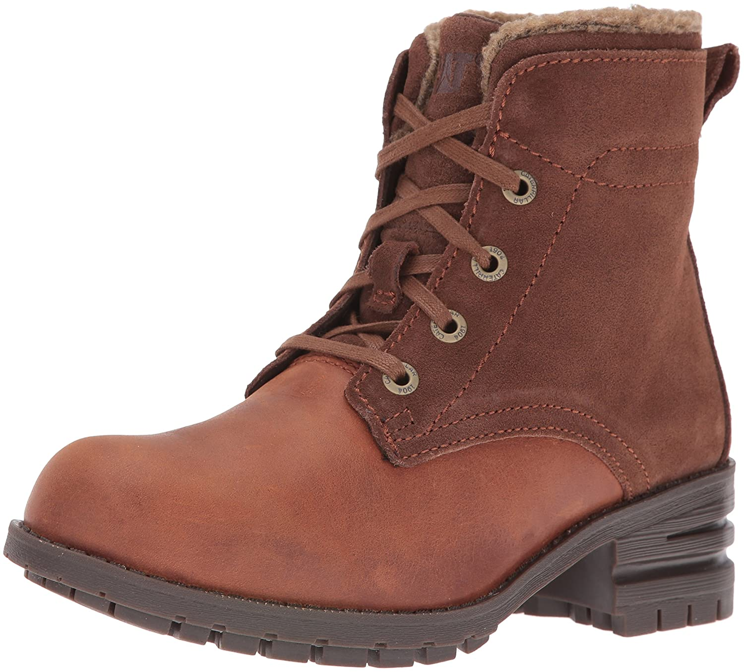 Caterpillar Women's Teegan Boot B01A63XU20 6.5 B(M) US|Womens Rust