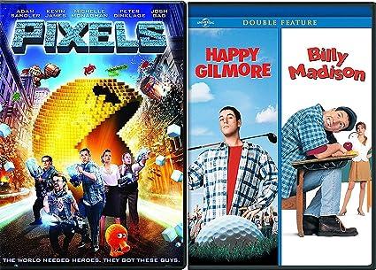 Amazon Com Adam Sandler Billy Madison Happy Gilmore Dvd