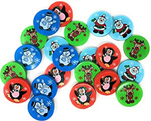 Funiverse Bulk 144 Piece Christmas Eraser Assortment