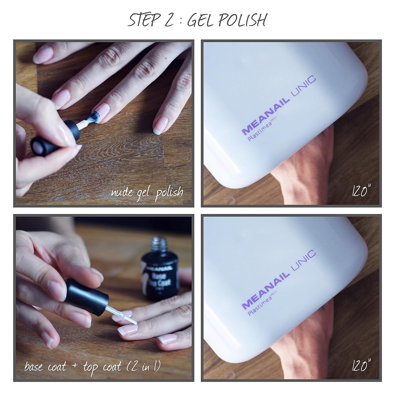 Plastimea Meanail Unic, Lampara UV Led Secador con Temporizador para Gel de Uñas/Esmalte/Uñas Acrilicas, Potencia 36W, blanco: Amazon.es: Salud y cuidado ...